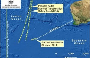 Austrailia looks for missing Malaysia airliner