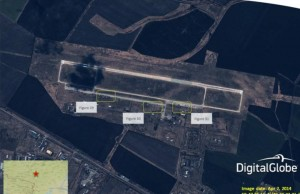 Photos 'show Russian military buildup' near Ukraine