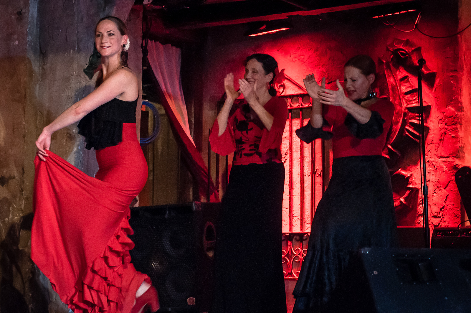 Photo courtesy of flickr user joeri-c Chicago-based Noche Flamen causes old and new elements of flamenco to create their unique sounds.
