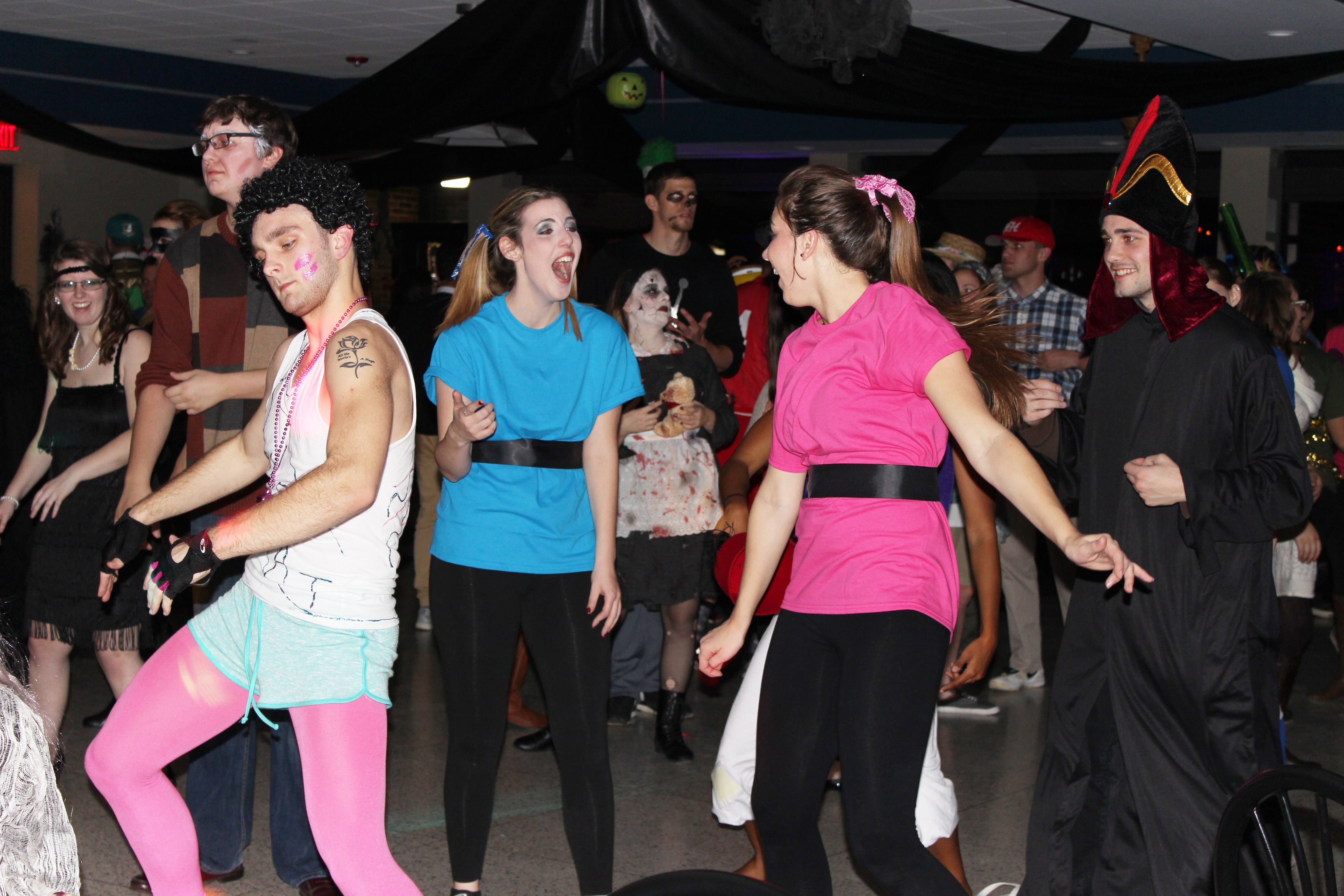 Student Halloween party brings out creative costumes – Lewis ...