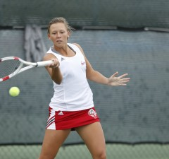 Photo by Steve Woltmann Dora Andrejzski will look to build on a third place finish in the fall.