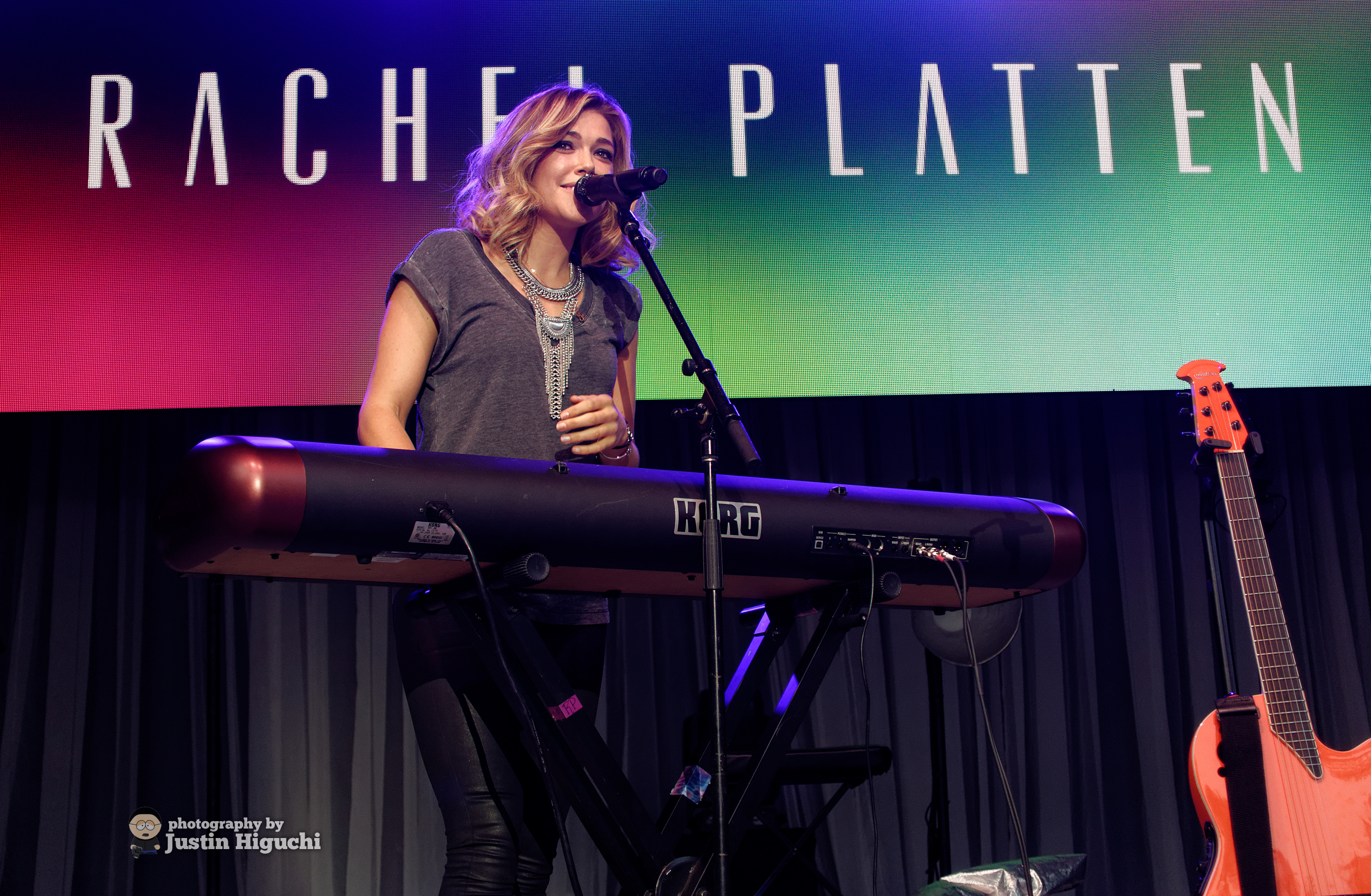 "Photo courtesy of flickr user Justin Higuchi Rachel Platten has topped the charts at number five with her album ""Wildfire,"" released this year."