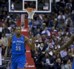Photo courtesy of Keith Allison With Kevin Durant back in OKC, this season's playoffs are already more exciting.